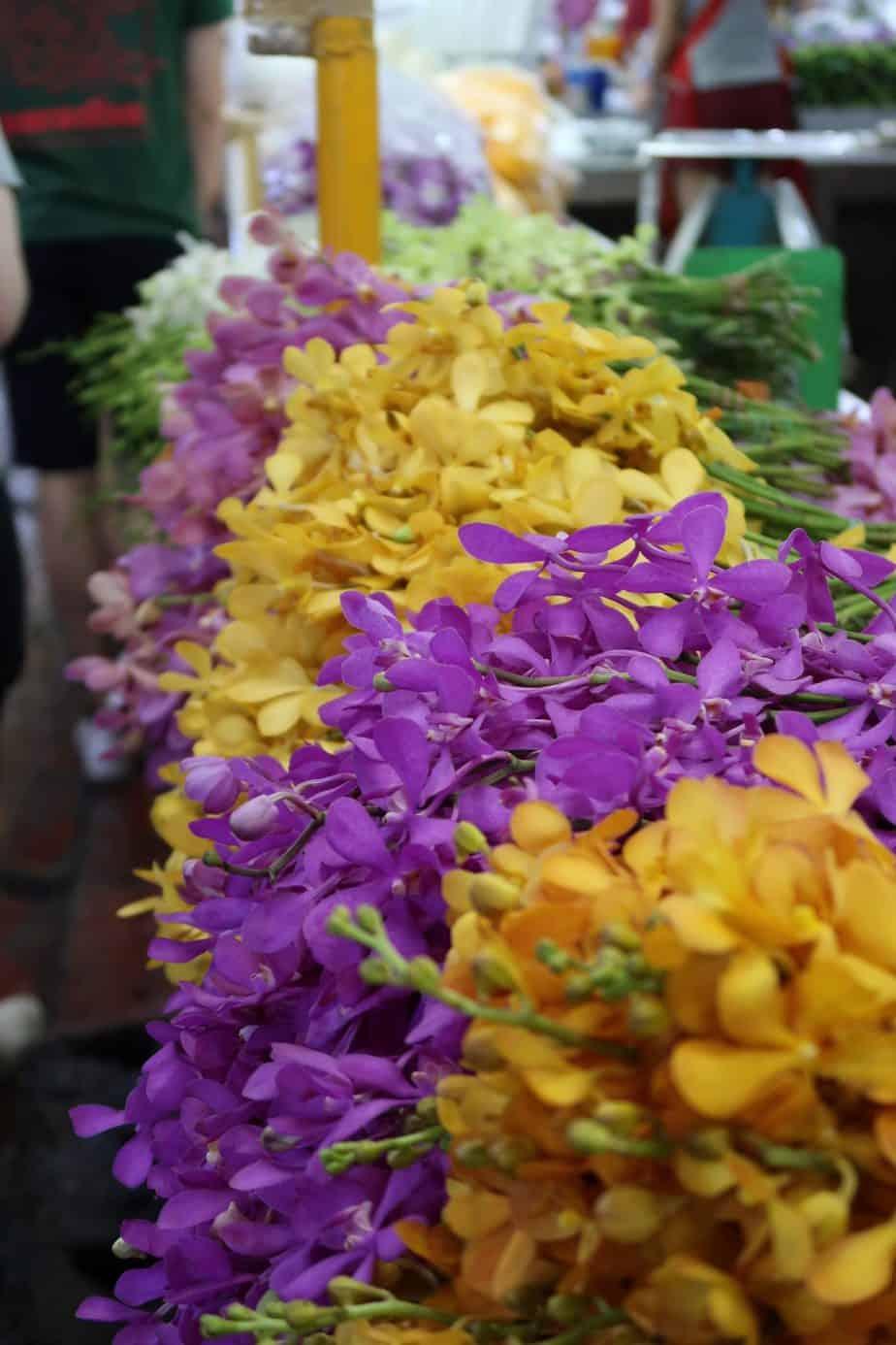 Bangkok: Pak Khlong Talat (Flower Market)