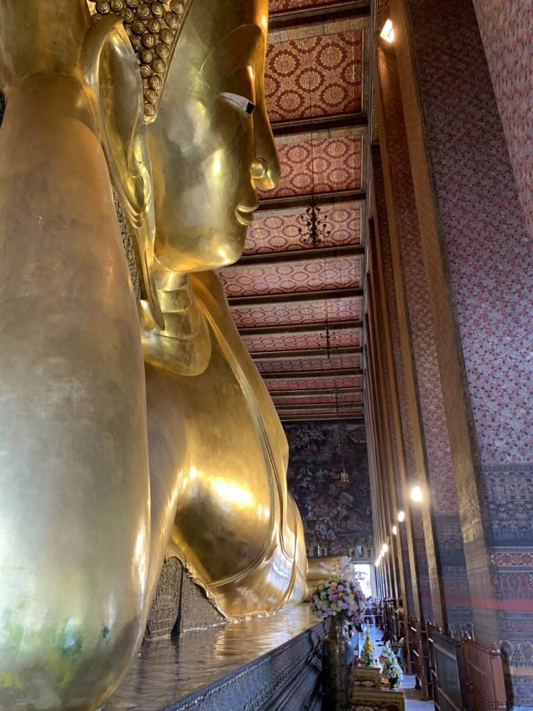 Reclining Buddha at Wat Pho​