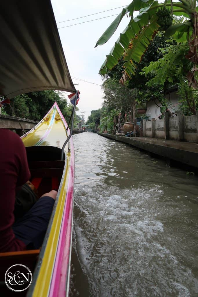 We enjoyed the thrill of racing along the canal in a water taxi. Come along for the ride!