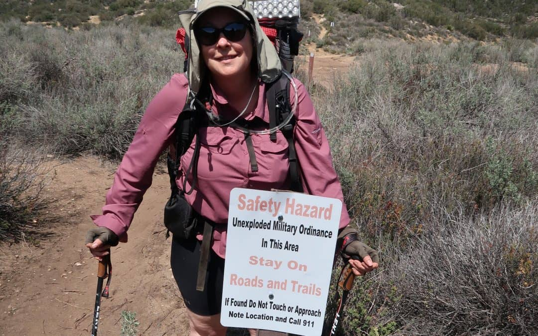 Noelle on the PCT