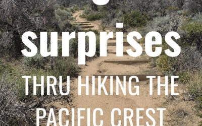 3 surprises in my first week hiking the PCT