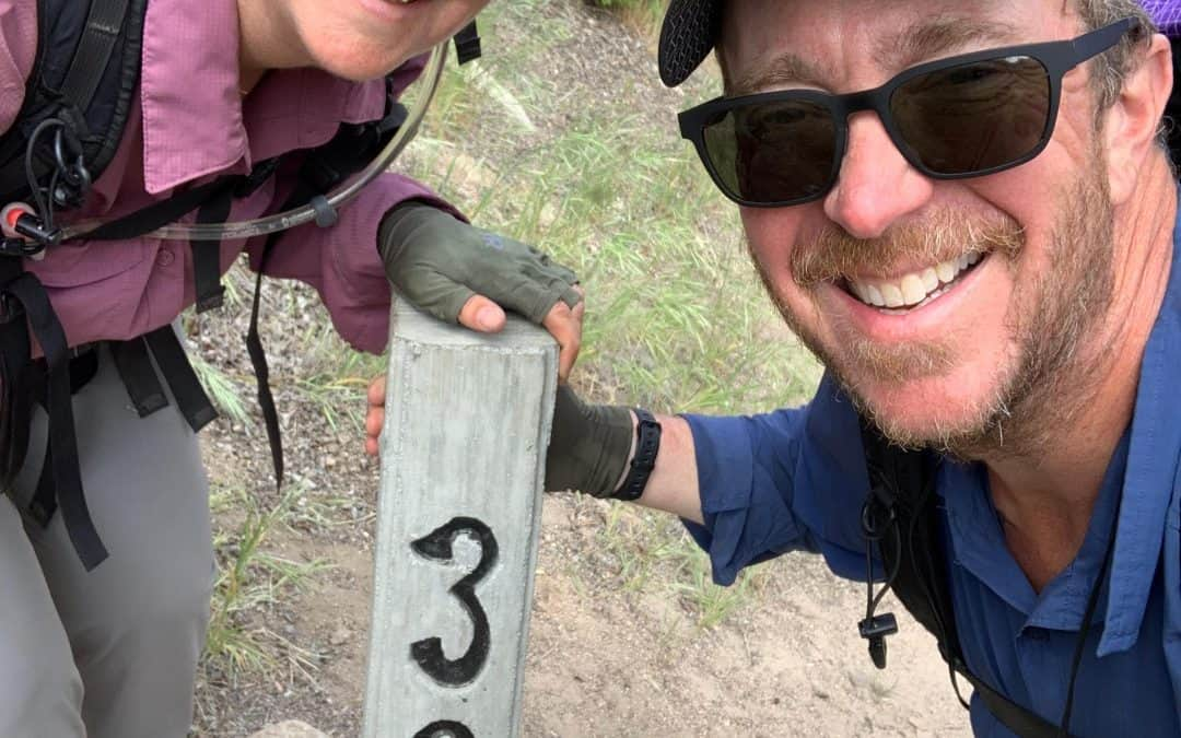 300 PCT mile marker