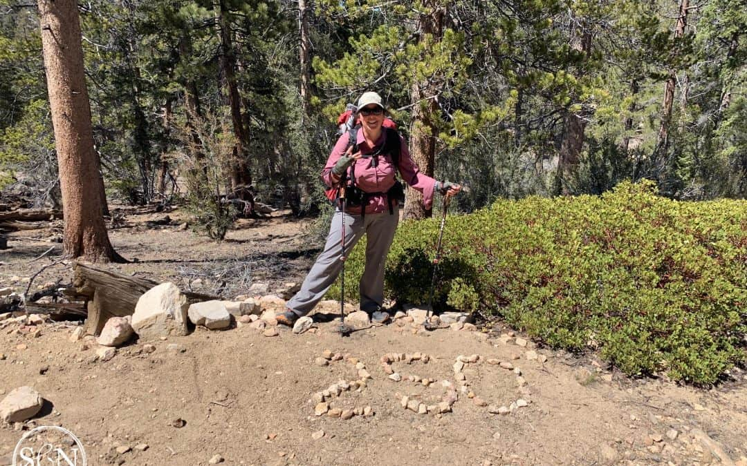 Noelle at 250 PCT miles
